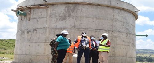 DR TUIMUR INSPECTS ONGOING WATER PROJECTS IN TRANS-NZOIA AND NANDI COUNTIES, CALLS FOR ITS COMPLETION
