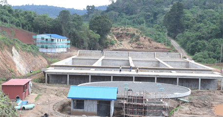 THE NEW WATER TREATMENT PLANT AT CHEMUSUSU DAM